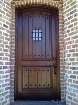 Eyebrow Wood Doors